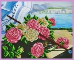 Розы на берегу