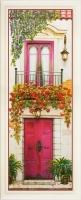 Цветущий балкон. Панно