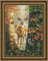 Лесной олень