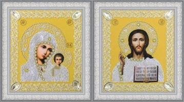 Набор венчальных икон (золото)