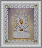Икона Божьей Матери Семистрельная (ажур)