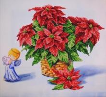 """Вышитая картина """"Рождественский натюрморт 2"""""""