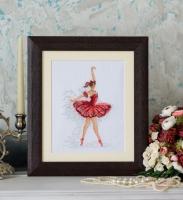 Вышитая картина Грация балета