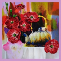 Цветочная акварель - 1