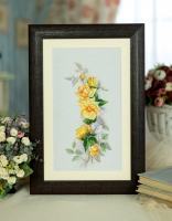 Embroidered picture Royal tenderness