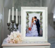 """Вышитая картина """"Поцелуй невесты"""""""